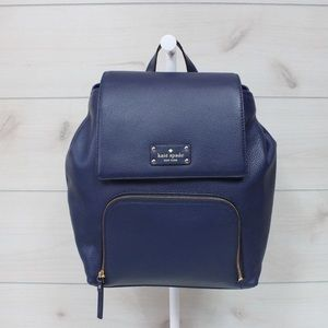 Kate Spade Remington Place Backpack Navy